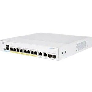 Cisco Cbs350-8p-2g-au Cbs350 Managed 8-port Ge Poe 2x1g Combo
