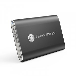 HP P500 1TB USB 3.2 Gen 2 Portable SSD - Black 1F5P4AA