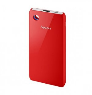 Apacer - Power Bank 6000mah Red - B513r-1