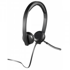 Logitech H650E On-ear Stereo Headset
