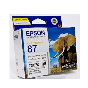Epson 87 - UltraChrome Hi-Gloss2 - Gloss Optimiser Cartridge