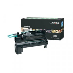 LEXMARK C792X1CG C792 Cyan Extra High Yield Return Program Print Cartridge, 20K