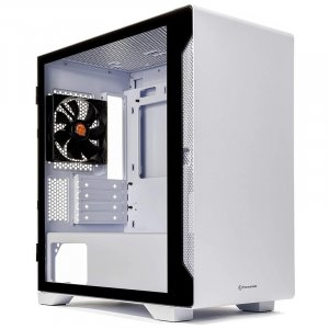 Thermaltake S100 Tempered Glass Micro-ATX Case - Snow Edition CA-1Q9-00S6WN-00