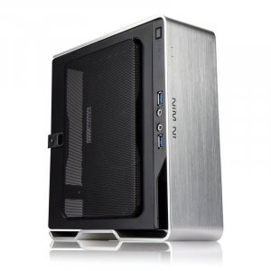 In Win Chopin Mini-ITX Tower Case - Silver