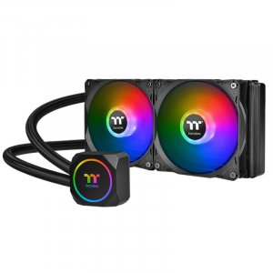Thermaltake TH120 ARGB Sync Edition AIO Liquid CPU Cooler CL-W285-PL12SW-A
