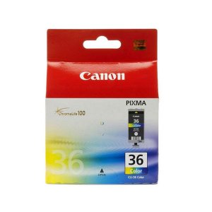 Canon CLI36C Four Col Ink Tank 109 pages Colour