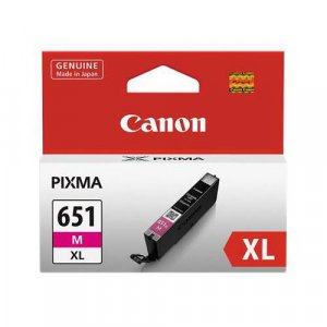 Canon CLI651XL Mag Ink Cart 680 A4 pages (ISO/IEC 24711) Magenta