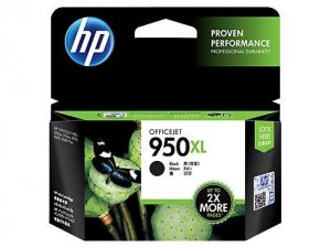 HP CN045AA 950XL High Yield Black Original Ink Cartridge, up to 2300 pages
