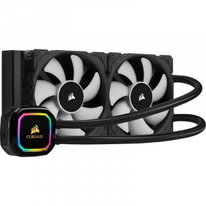 Corsair iCUE H100i RGB PRO XT 240mm Liquid CPU Cooler CW-9060043-WW