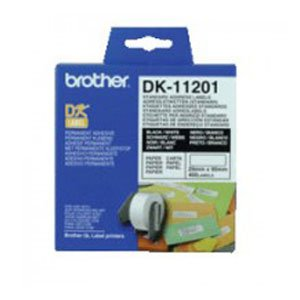 Brother DK11201 White Label 400 per roll