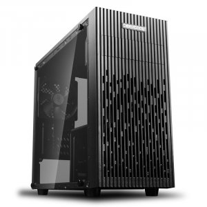 Deepcool Matrexx 30 Tempered Glass Mini-Tower Micro-ATX Case with 450W PSU DP-MATX-MATREXX30-SI