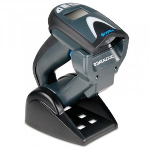 Datalogic Gryphon GM4132 2D Scanner Kit with USB Cable and Base Station GM4132-BK-433K1
