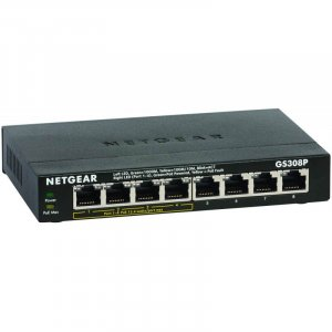 NETGEAR GS308 SOHO 8-Port Unmanaged Gigabit Ethernet