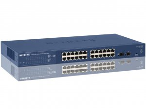 Netgear GS724Tv4 Prosafe 24 Port Gigabit Smart Switch