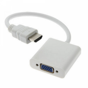 Generic Cable Adapter HDMI(M) To VGA(F) with chip 15CM