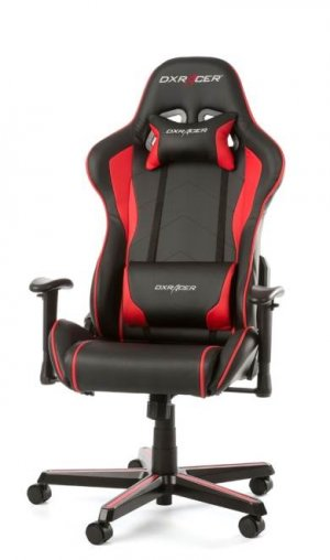 DXRacer Formula Series FL08 PC Office/Gaming Chair - Black & Red