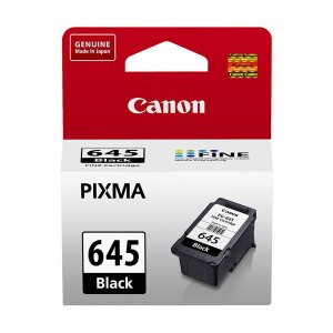 Canon PG645 Black Ink Cart 180 pages Black