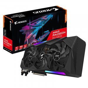 Gigabyte Radeon RX 6800 AORUS MASTER 16GB Video Card R68AORUS-M-16GD