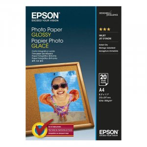 Epson A4 Glossy Photo Paper 20 sheets S042538