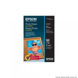 Epson S042547 Photo Paper Glossy 4x6 50 sheets