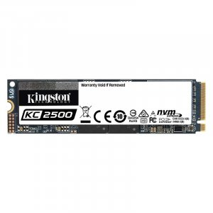 Kingston KC2500 250GB M.2 (2280) PCIe NVMe SSD SKC2500M8/250G