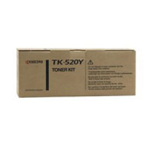 Kyocera TK520Y Yellow Toner 4,000 pages Yellow