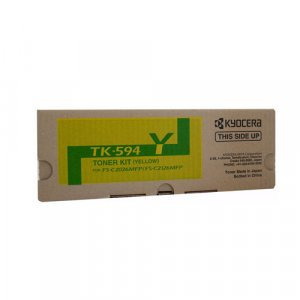 Kyocera TK594 Yellow Toner 5,000 pages Yellow