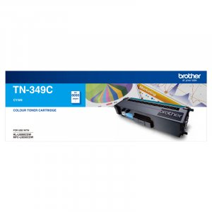 Brother TN-349C Toner Cartridge Super High Yield (Cyan)