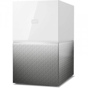 WD My Cloud Home Duo 8TB Dual-Drive Personal Cloud Storage NAS WDBMUT0080JWT