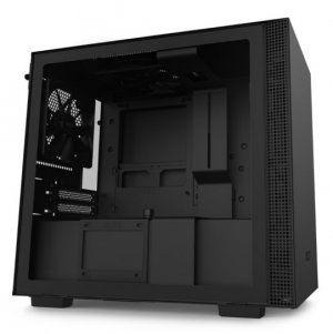 NZXT H210 TG Tempered Glass Mini-ITX Case - Matte Black