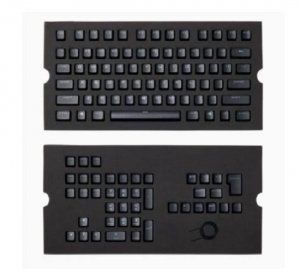 Corsair Gaming MX Switch Type Doubleshot PBT 104/105-Key ANSI Keycap Set - Black