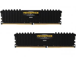 Corsair Vengeance LPX 32GB (2X16GB) DDR4 3600 (PC4-28800) C18 1.35V Desktop Memory Black