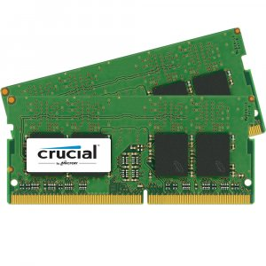 Crucial 16GB DDR4 2400 MHz SO-DIMM Memory Kit (2 x 8GB) CT2K8G4SFS824A