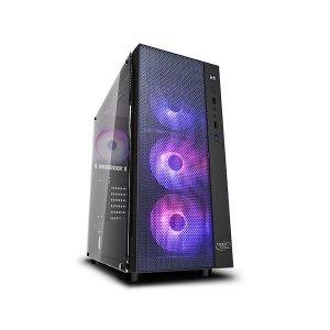 Deepcool Dp-atx-matrexx55-mesh-ar-4f Black Matrexx 55 Mesh Add-rgb 4f Mid Tower Chassis