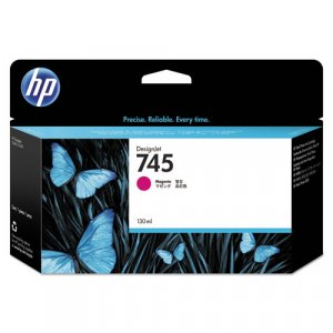 Hp F9j95a Ink Cartridge No 745 Magenta 130ml