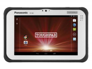 "Panasonic Toughpad Fz-b2 (7.0"") Mk2 With 4g, 12 Point Satellite Gps & Barcode Reader"