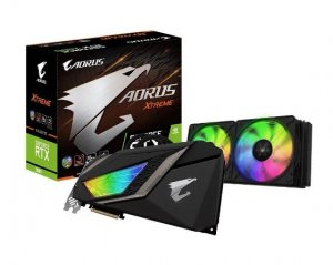 Gigabyte AORUS GeForce RTX 2080 XTREME WATERFORCE 8GB Video Card N2080AORUS-X-W-8GC