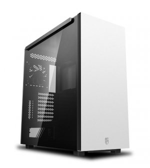 Deepcool Macube 550 Tempered Glass Mid-Tower E-ATX Case - White