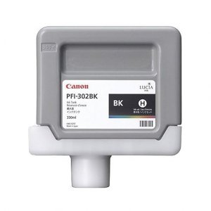 Canon Black Ink Tank 330ml For Ipf 8100, 9100
