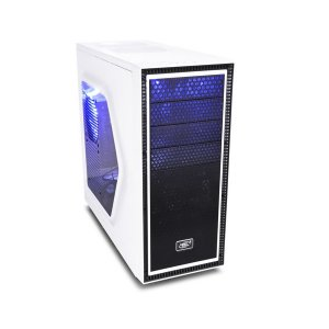 DeepCool White Tesseract SW Mid Tower Chassis (USB3)