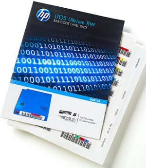 Hp Q2013a Lto6- Bar Code Label Pack(qty:100 ,10 Clean) Uniquely Sequenced