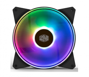 Coolermaster R4-140r-15pc-r1 Masterfan 140mm Addressable Rgb Fan, Support Cm Plus Software Control