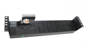 Powershield 10 Way Pdu With Australian Sockets RPR-10HMCB