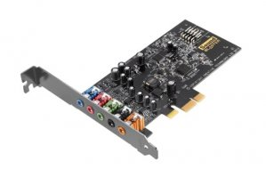 Creative Sound Blaster Audigy Fx 5.1 Ch PCI-E Sound Card