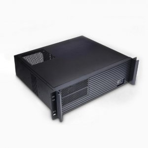 Tgc Rack Mountable Server Chassis 3u 380mm Depth With Atx Psu Window - No Psu