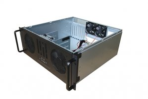 Tgc Rack Mountable Server Chassis 4u 450mm Depth, 4x Int 3.5' Bays, 1x 2.5' Bay/slim Optical, 7x Full Height Pcie Slot, Atx Psu/mb