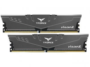 Team TLZGD416G3000HC16CDC01 T-Force Vulcan Z 16GB (2x8GB) DDR4 3000MHz Grey Memory