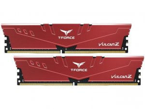 Team TLZRD416G3000HC16CDC01 T-Force Vulcan Z 16GB (2x8GB) DDR4 3000MHz Red Memory