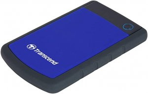 Transcend Ts4tsj25h3b 4tb 2.5in Portable Hdd Storejet H3 Blue