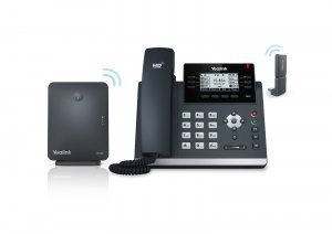 Yealink W41P Wireless DECT Deskphone Solution W60B, SIP-T41S & DD10K DECT Dongle